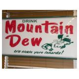 VIEW 2 CLOSEUP MT. DEW SIGN
