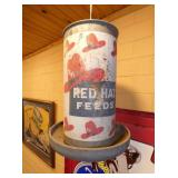 12X16 RED HAT FEEDER
