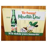 21X30 EMB. MT. DEW SIGN