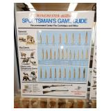 23X28 METAL SPORTSMAN GAME GUIDE