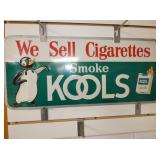 11X24 EMB. KOOLS CIGARETTES SIGN