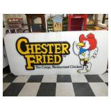38X84 CHESTER FRIED CHICKEN PLASTIC