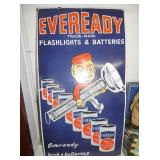 18X32 PORC. EVEREADY BATTERY SIGN