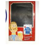 17X26 PABST BLUE RIBBON MENU