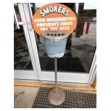 13X43 SMOKERS SIDEWALK SIGN