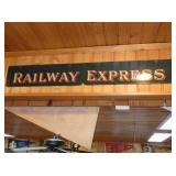VIEW 2 RAILWAY EXPRESS SIGN