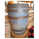 VIEW 2 DICKENSON BARREL W/ BLUE PAINT