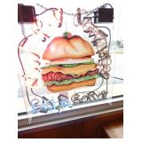 24X28 HAMBURGER NEON SIGN