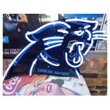 19X28  PANTHERS NEON SIGN