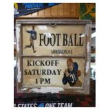 27X28 FOOTBALL KICKOFF WINDOW