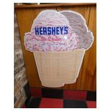 27X33 HERSHEYS ICE CREAM SIGN