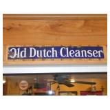 5X24 PORC. OLD DUTCH CLEANSER SIGN