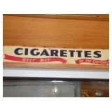 5X24 CIGARETTES DOOR SIGN