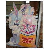 26X41 LAYS CARTON CHIPS SIGN