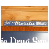 EMB. MERITA BREAD DOOR SIGN