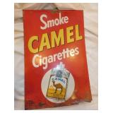 12X18 CAMEL CIGARETTES SIGN