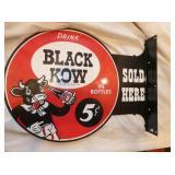 13X18 BLACK KOW FLANGE