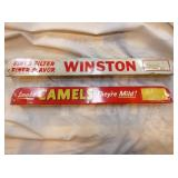 2X16 WINSTON, CAMEL RACK SIGNS