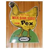 12X20 PEX CHICKEN SIGN