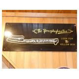 12X24 THE PROPHYLACTIC SIGN