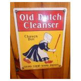 9X12 OLD DUTCH CLEANER SIGN