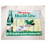 19X23 MT. DEW YA-HOO SIGN