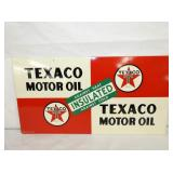 VIEW 2 OTHERSIDE TEXACO MOTOR OIL SIGN