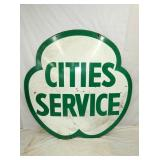 VIEW 2 OTHERSIDE PORC. CITIES SERVICE SIGN