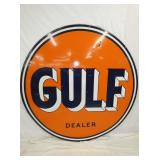 VIEW 2 OTHERSIDE PORC. GULF DEALER SIGN