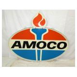 45X73 FIBERGLASS AMOCO W/ FLAME