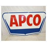 43X72 PORC. APCO SIGN
