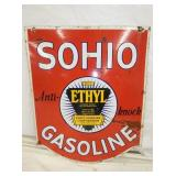 25X30 PORC. SOHIO GASOLINE SIGN