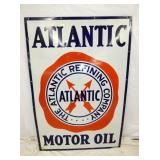 36X52 PORC. ATLANTIC MOTOR OIL SIGN
