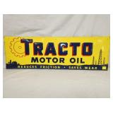 12X35 EMB. TRACTO MOTOR OIL SIGN