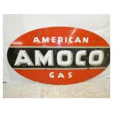 54X96 PORC. AMOCO GAS SIGN