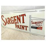 VIEW 2 RIGHTSIDE SARGENT PAINT SIGN