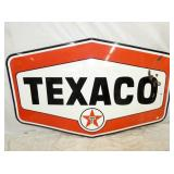 54X96 PORC. 6 SIDED TEXACO SIGN