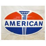 1969 45X74 PORC. AMERICAN SIGN