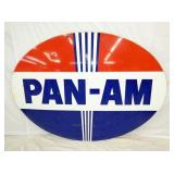 60X84 PORC. PAN-AM SIGN