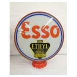 ESSO ETHYL GAS PUMP GLOBE
