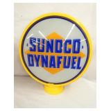 SUNOCO DYNAFUELF GAS PUMP GLOBE