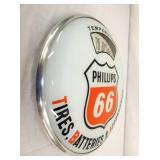 VIEW 2 PHILLIPS 66 SCALE THERMOMETER