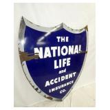 VIEW 2 PORC. NATIONAL LIFE SHIELD SIGN