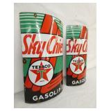 VIEW 2 SKY CHIEF TEXACO VISABLE PUMP SIGNS