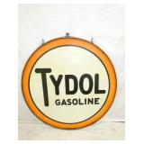 VIEW 2 OTHERSIDE TYDOL GASOLINE SIGN