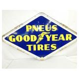 41X68 PORC. PNEUS GOODYEAR TIRES SIGN