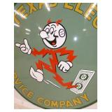 VIEW 3 CLOSEUP REDDY KILOWATT SIGN