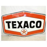 54X86 PORC. 6 SIDED TEXACO SIGN