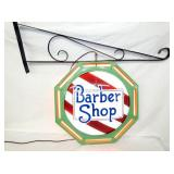 RARE 22IN. BARBER SHOP NEON