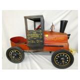 23X38 EARLY CASEY JONES PEDAL CAR
